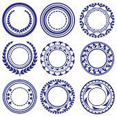 Circle Elements Pattern
