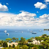 Luxury Resort And Bay Of Villefranche. French Riviera