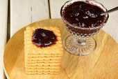 Some Biscuits And Blackberry Jam