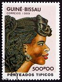 Postage Stamp Guinea-bissau 1989 Womens Hairstyle