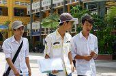 Asian High School Student