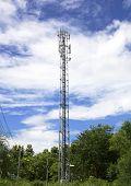 Antenna Radio Wave Transmission.