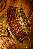 Hand Woven Baskets in Natural Light