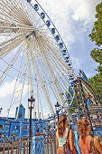 Ferris Wheel In Brussels