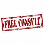Free Consult-stamp