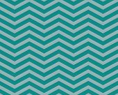 Teal Chevron Zigzag Textured Fabric Pattern Background