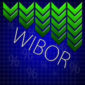 picture of macroeconomics  - Graph illustration showing Warsaw Inter Bank Offer Rate  - JPG