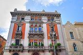 Historical palace. Bari. Puglia. Italy.