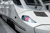 picture of high-speed train  - modern high - JPG