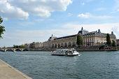 Musee d'Orsay, River Seine, Paris, France