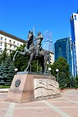 Monument To Russian Commander Pyotr Bagration In Moscow