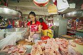 Puerto Princesa Meat Market