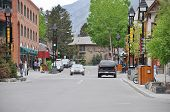 Street of Banff.
