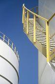 Stairway on Storage Tank