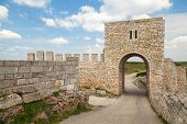 Gate Of Medieval Fortress Of Kaliakra, Bulgarian Black Sea Coast
