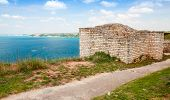 Bulgarian Black Sea Coast. Ancient Fortress On Kaliakra Headland