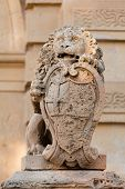 Lion guarding of Mdina