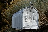 Rural Mailbox In The United States