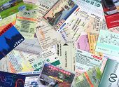 Background Of City Transport Tickets