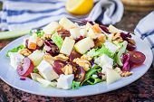 Fruit And Cheese Salad
