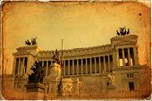 stock photo of altar  - National monument to Vittorio Emanuele II  - JPG