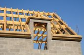 Roof Structure Of An House In Ile De France