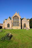 picture of church-of-england  - St Lawrence Church and churchyard Evesham Worcestershire England UK Western Europe - JPG