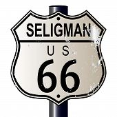 Seligman Route 66 Sign