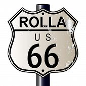 Rolla Route 66 Sign