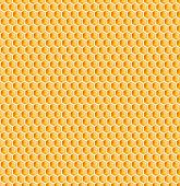 pic of honeycomb  - honeycomb or bee honey comb seamless texture - JPG