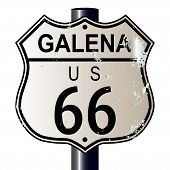 Galena Route 66 Sign