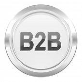 b2b metallic icon