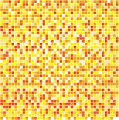 Illustration Of Orange Pixels Background