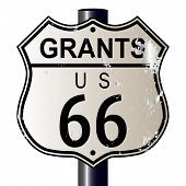 Grants Route 66 Sign
