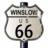 Winslow Route 66 Sign