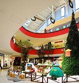 Vilnius Ozas Schopping House Centre Internal View