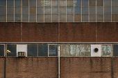 Grungy facade