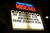 BEVERLY HILLS - DEC 25: Controversial movie 'The Interview' opens at the Music Hall Laemmle Theaters on December 25, 2014 in Beverly Hills, California