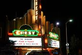 LOS ANGELES - DEC 25: Controversial movie 'The Interview' opens at the Crest Theater on December 25, 2014 in Westwood, Los Angeles, California