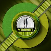 Vegan Menu Design