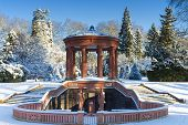 Elisabethenbrunnen In The Winter