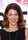 LOS ANGELES - MAY 30:  LUCY GRIFFITHS arrives to