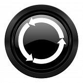 refresh black icon reload black icon