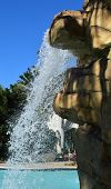 Hard Rock Waterfall