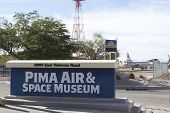 Pima Air And Space Museum Sign