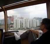 Hong Kong Tourist Bus poster