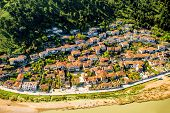 picture of albania  - Historic city of Berat in Albania - JPG