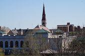 stock photo of illinois  - The skyline of Joliet - JPG