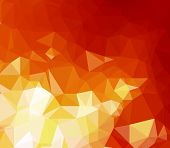 foto of flames  - Background modern texture triangle geometry forest fire flames - JPG