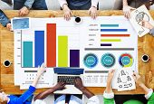 stock photo of diversity  - Diversity Business People Strategy Brainstorming Planning Concept - JPG